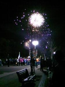 浜松の花火