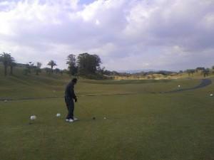 ゴルフです。