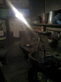 名残の洗面所です。