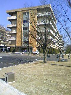愛知学院大学で現地調査