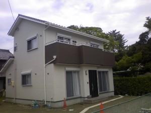 新築の自宅です。