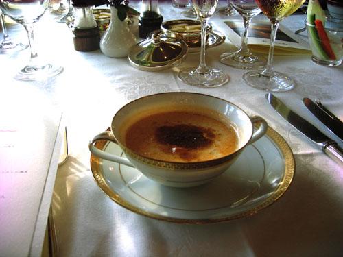 伊勢えびのスープ