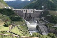 長島ダムとしぶき橋