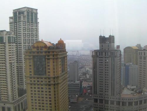 インターコンチ26階からの眺め