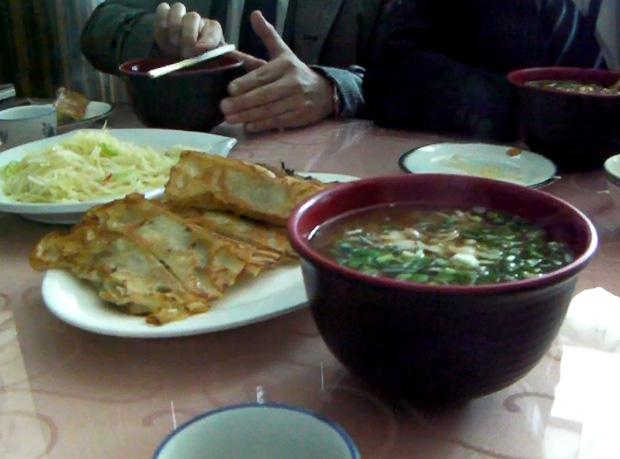 二日目ランチ-あさり麺