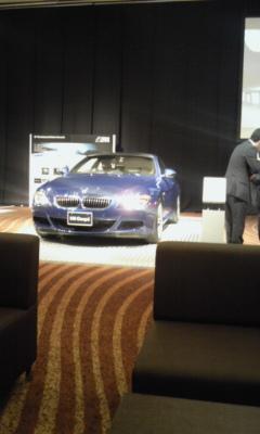 BMWの展示会
