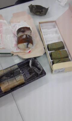 奈良土産のお寿司