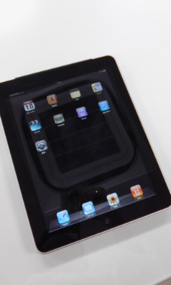 iPad使ってます