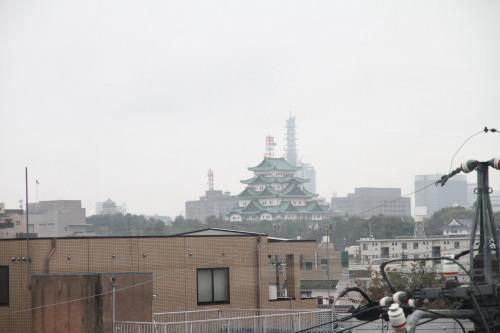 大森さんの4階からの眺め