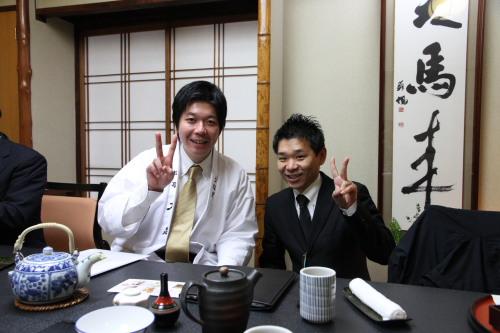 企画室長森田さんとツーショット