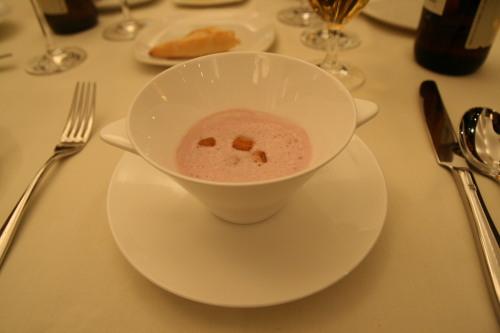 葵モノリス 紅いものスープ