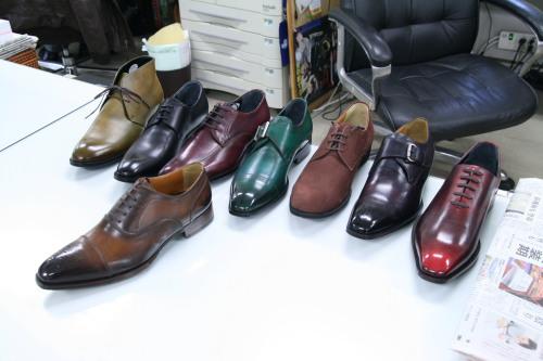 オーダーメイドの靴 見本