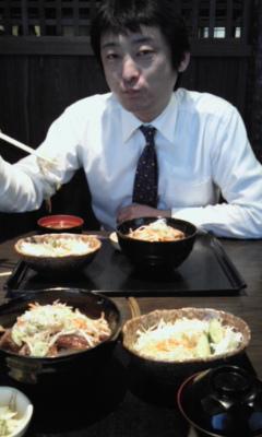 ハラミ丼と赤須さん