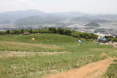 伊吹山 2合目付近からの眺め