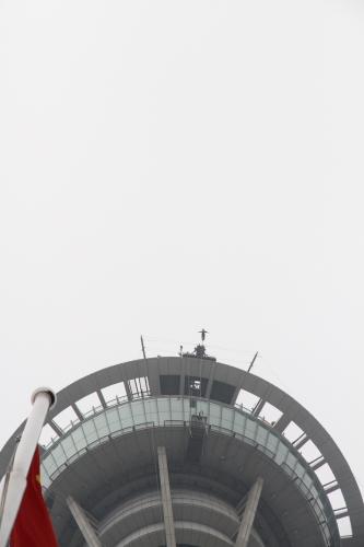 マカオタワーからバンジー