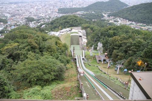 大倉山高い!