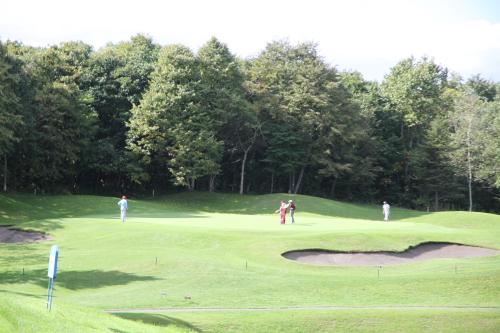 北海道のゴルフ場です。