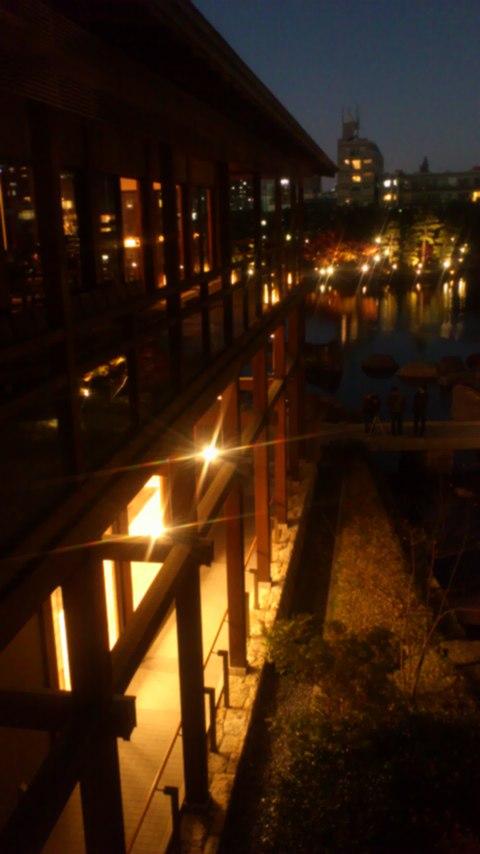 徳川園夜景