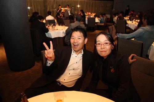 私、玉田と寺本先生